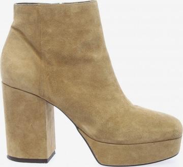 VIC MATIÉ Dress Boots in 40 in Beige