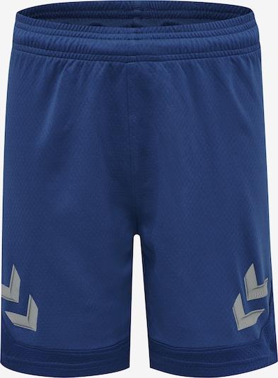 Hummel Sporthose in dunkelblau / grau / weiß, Produktansicht