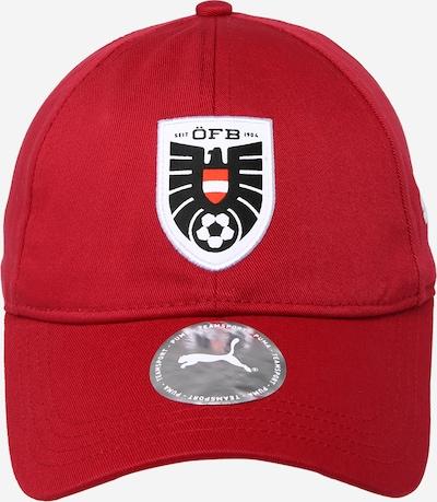 PUMA Športová šiltovka 'FB Team' - červená / čierna / biela, Produkt