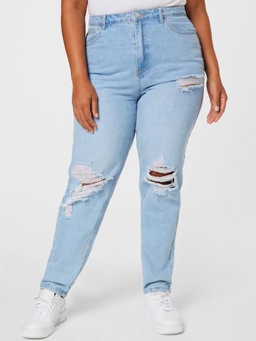 Jeans di Missguided Plus in blu