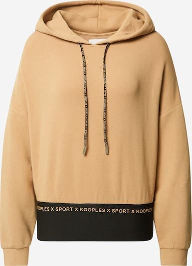THE KOOPLES SPORT Sweater majica u svijetlobež / crna, Pregled proizvoda