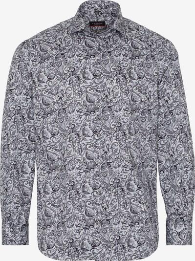 ETERNA Hemd '1863' in blau / grau / schwarz, Produktansicht