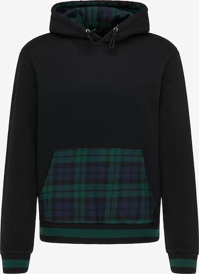 MO Sweatshirt in marine / smaragd / schwarz, Produktansicht