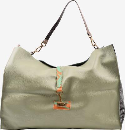 ebarrito Shopper 'SPIN THE WHEEL BAG' in grün / schwarz / weiß, Produktansicht