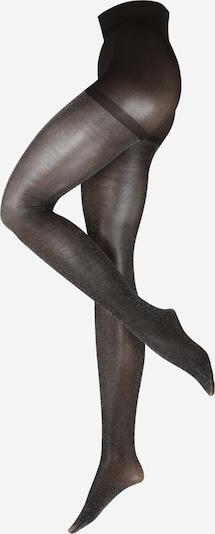 ONLY Collants 'ONLTINA SPARKLE 40 DEN TIGHTS' en noir / argent, Vue avec produit