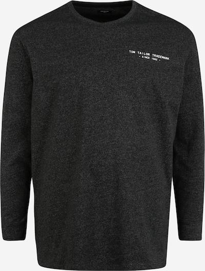 TOM TAILOR Men Plus Pullover in schwarzmeliert, Produktansicht