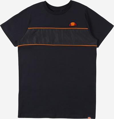 ELLESSE T-Shirt 'Zabaglione JNR Tee' en bleu marine / orange, Vue avec produit