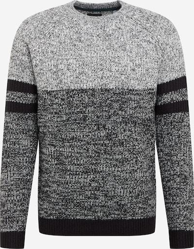Only & Sons Pullover 'ROCCO' in graumeliert / schwarzmeliert, Produktansicht