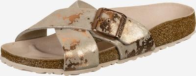 BIRKENSTOCK Mule 'Siena' en or rose, Vue avec produit