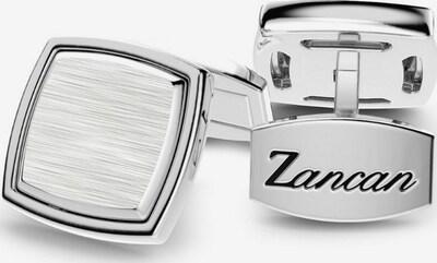 Zancan Manschettenknöpfe in silber, Produktansicht