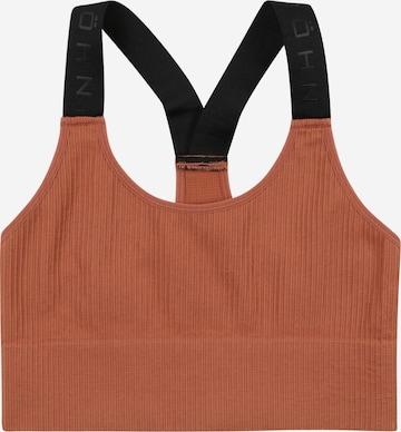 Röhnisch Biustonosz sportowy w kolorze brązowy