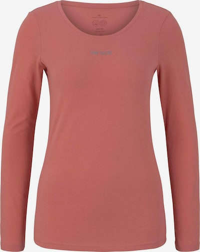 Tom Tailor FM Shirt in silbergrau / lachs, Produktansicht