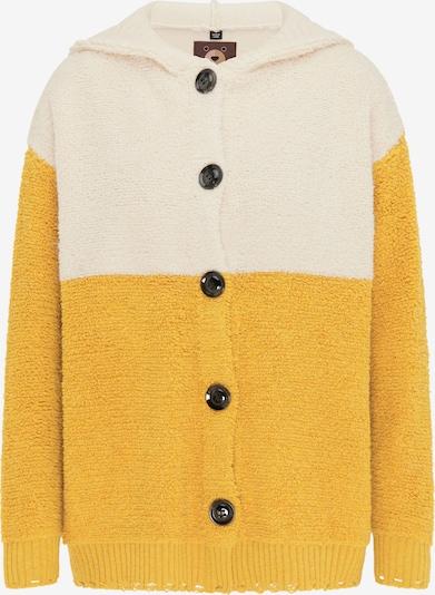 taddy Strickjacke in beige / gelb, Produktansicht