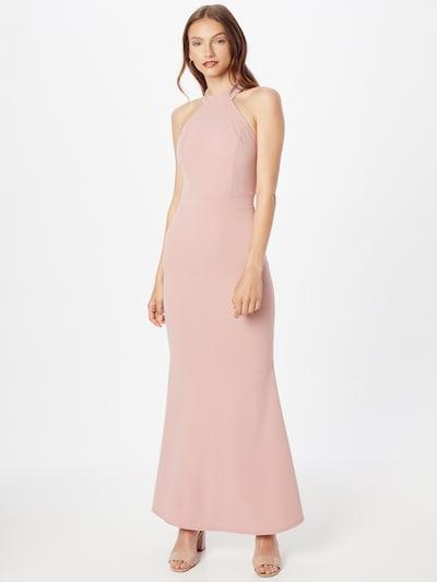 WAL G. Vestido de noche 'RAQUEL' en rosa: Vista frontal