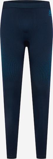 ODLO Sporta bikses, krāsa - zils / tumši zils, Preces skats