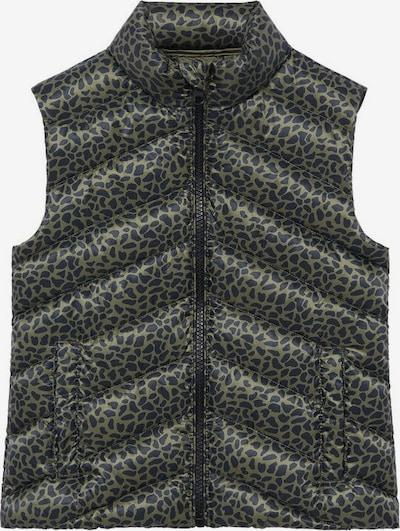 MANGO KIDS Weste 'Aliv 8' in khaki / schwarz, Produktansicht