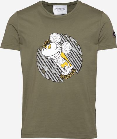 ICEBERG Majica 'F015' u zelena / miks boja, Pregled proizvoda