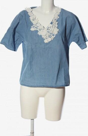 SET Jeansbluse in S in blau, Produktansicht