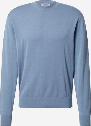 DAN FOX APPAREL Sweater 'Gregor' in Blue