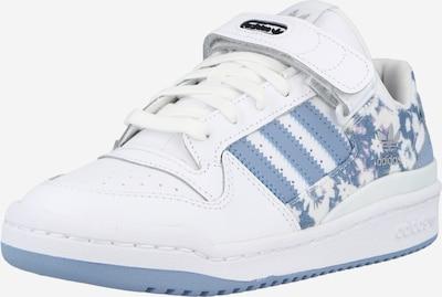 ADIDAS ORIGINALS Baskets basses 'FORUM' en bleu fumé / blanc, Vue avec produit