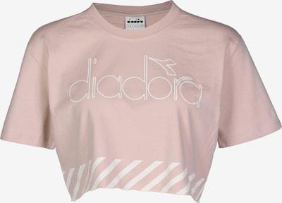 Diadora T-Shirt ' Barra W' in hellpink / weiß, Produktansicht