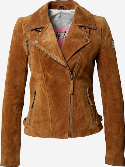 FREAKY NATION Jacke 'Bikerprincess' in karamell, Produktansicht
