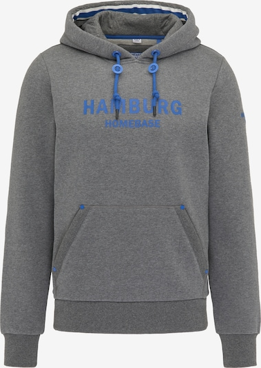 HOMEBASE Hoodie in blau / graumeliert, Produktansicht
