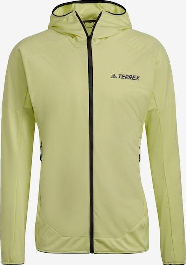 adidas Terrex Fleecejacke 'Terrex' in grün / schwarz, Produktansicht