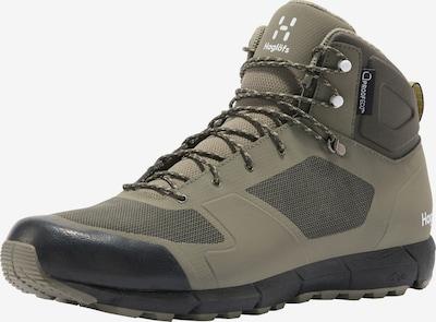 Haglöfs Boots 'L.I.M Mid Proof Eco' en taupe / blanc, Vue avec produit