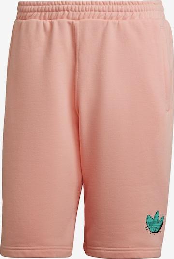ADIDAS ORIGINALS Broek in de kleur Groen / Rosa, Productweergave