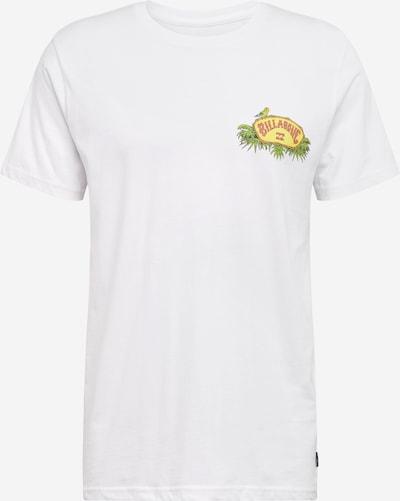 BILLABONG Shirt in gelb / grün / dunkellila / rot / weiß, Produktansicht