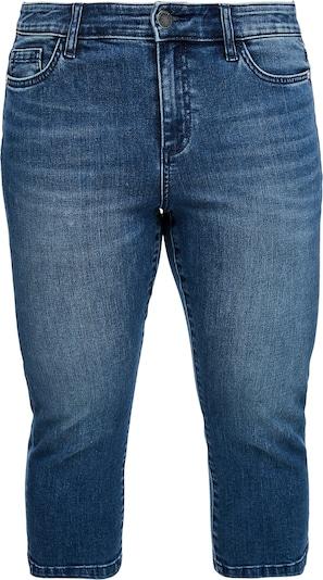 TRIANGLE Capri-Jeans in blau, Produktansicht
