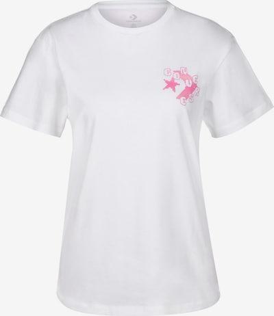 CONVERSE T-Shirt ' Stargazers W ' in pink / weiß, Produktansicht