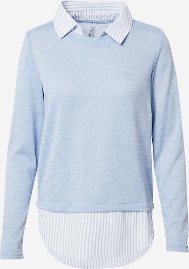 Hailys Pull-over 'Linda' en bleu clair / blanc, Vue avec produit