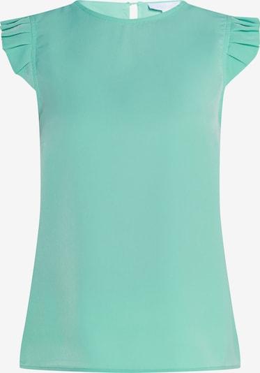 usha WHITE LABEL Top in de kleur Turquoise: Vooraanzicht