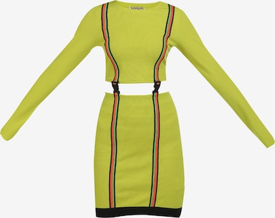 myMo ATHLSR Vestido deportivo en manzana / verde neón / naranja / rosa / negro, Vista del producto