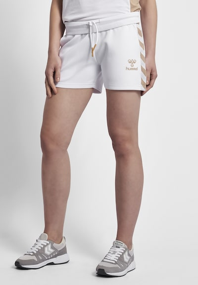 Hummel Shorts in weiß: Frontalansicht