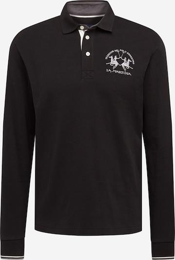 La Martina Shirt in schwarz / weiß, Produktansicht