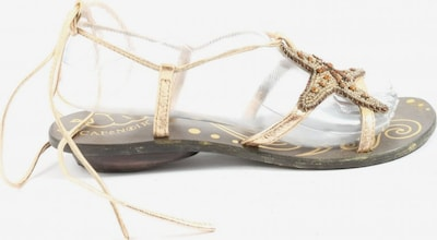 CAFÈNOIR Sandals & High-Heeled Sandals in 38 in Gold, Item view