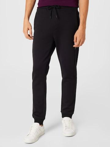 BOSS ATHLEISURE Trousers 'Hadiko 2' in Black