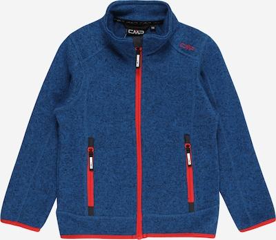 Jachetă  fleece funcțională CMP pe albastru marin / roșu orange, Vizualizare produs