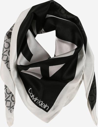 Mască de stofă Calvin Klein pe negru / alb, Vizualizare produs