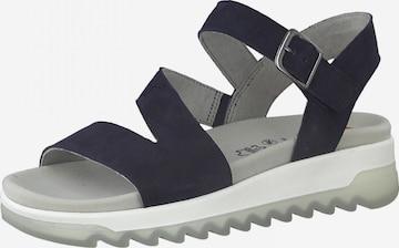 JANA Sandale in Blau