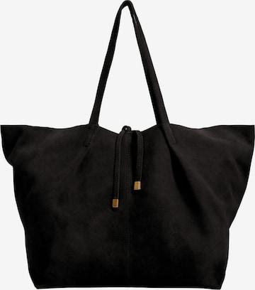 MANGO Torba shopper 'Sonia' w kolorze czarny