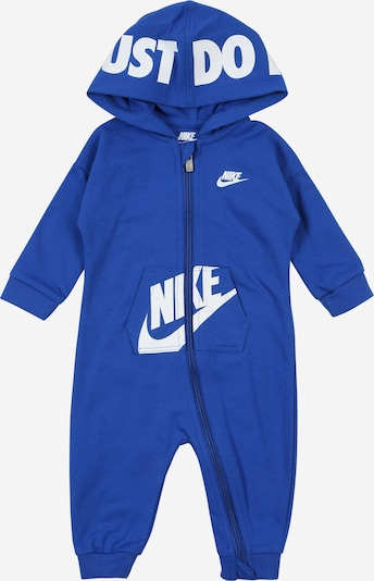 Nike Sportswear Overal - modrá / biela, Produkt