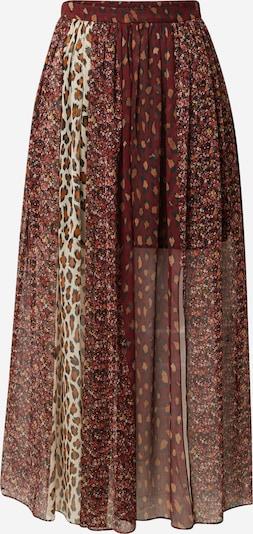 Twinset Suknja u oker / roza / burgund / crna / bijela, Pregled proizvoda