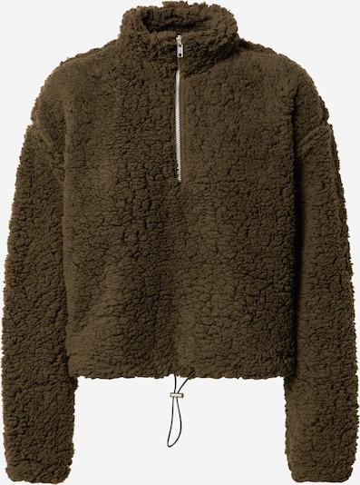 PIECES Pullover in grün / schwarz, Produktansicht