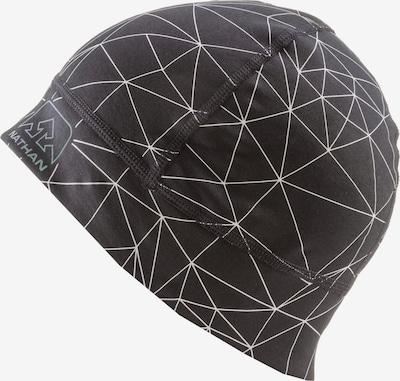 NATHAN Mütze in schwarz / weiß, Produktansicht