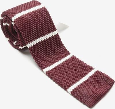 Toni Gard Krawatte in One Size in weinrot / weiß, Produktansicht