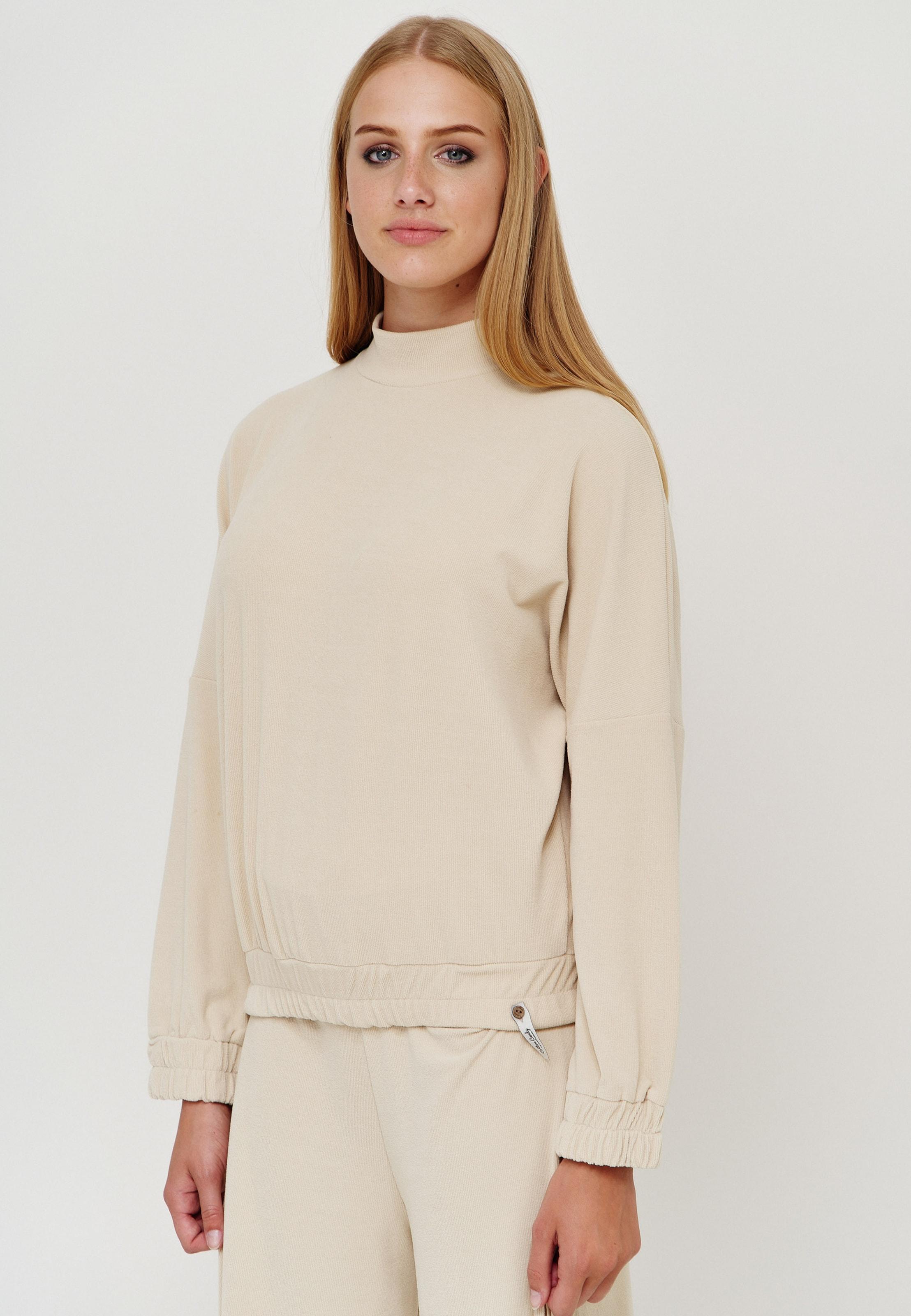 Cotton Candy Sweatshirt 'ROHANNA' in nude